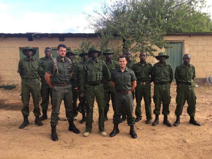 """Tactical Defense Systems"" assisting GCF with equipping Anti Poaching Units"