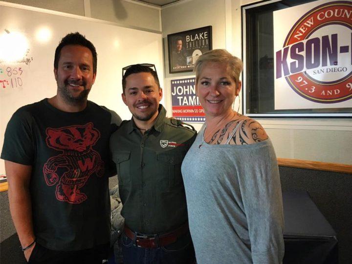 Radio Interview with John & Tammy, 97.3 KSON San Diego