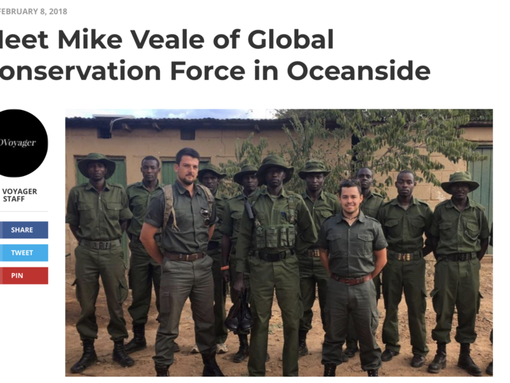 SD Voyager Interview – Meet Mike Veale of Global Conservation Force in Oceanside