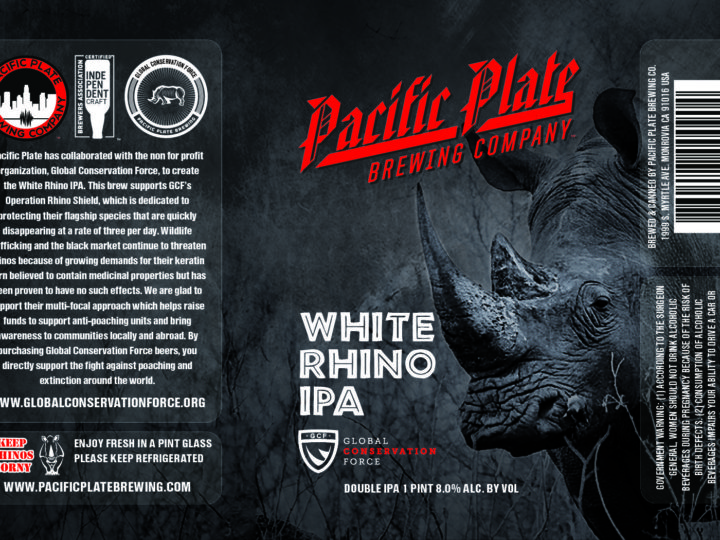 New White Rhino IPA Recipe and Can Release!