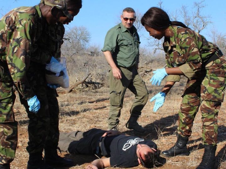 GCF Australia Team Deploys to Provide Sponsored Combat Medical Courses to Frontline Anti Poaching Rangers